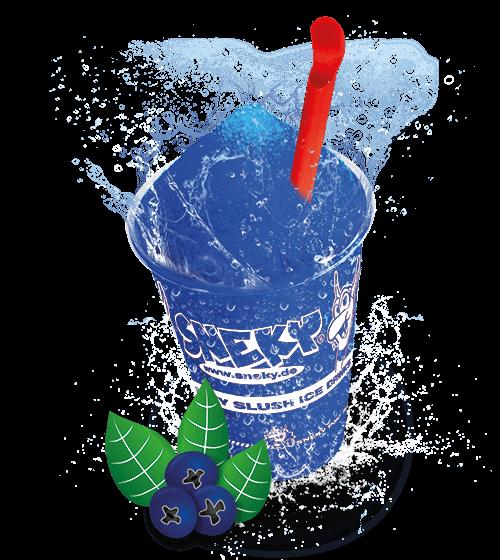 Sneky Ice Drink Sirup Heidelbeere