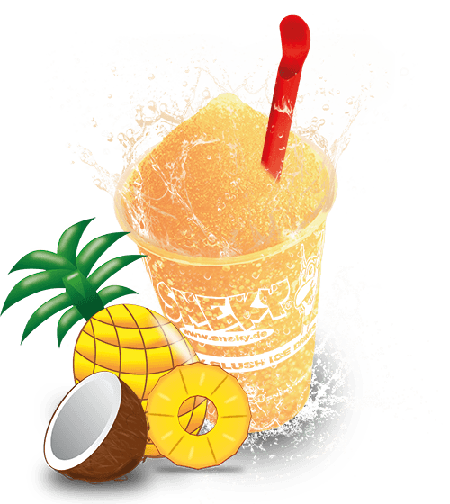 Sneky Ice Drink Sirup - Pina Colada