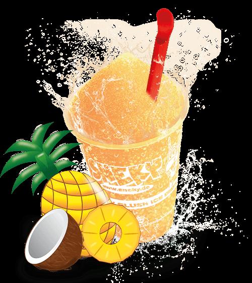 Sneky Ice Drink Sirup - Pina Colada