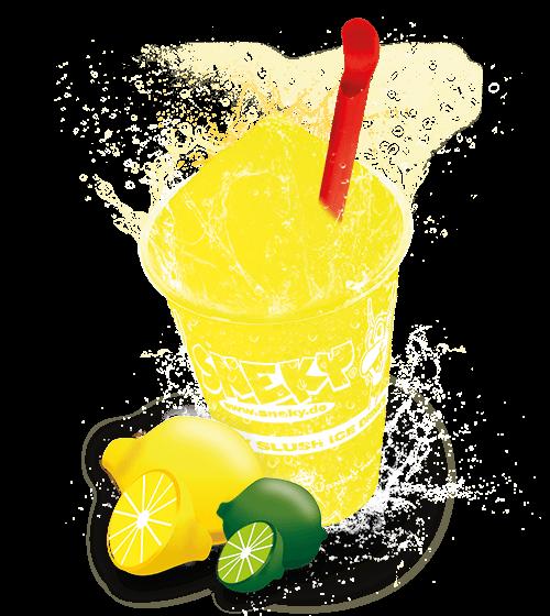 Sneky Ice Drink Sirup - Zitrone Limette (AZOfrei)