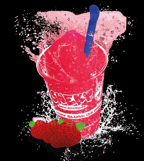 Sneky Ice Drink Sirup Erdbeere