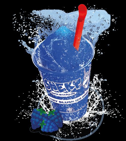 Sneky Ice Drink Sirup BLAUE HIMBEERE (AZOfrei)