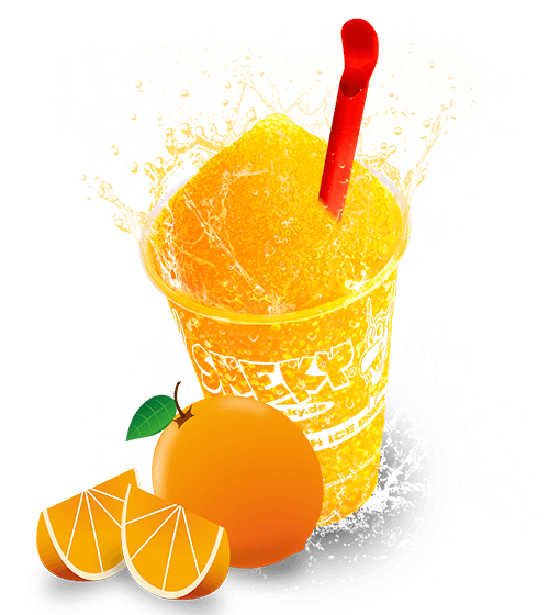 Sneky Ice Drink Sirup Orange Dream