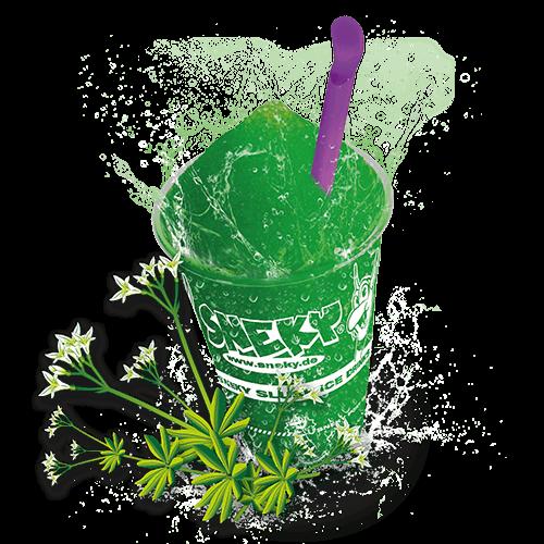 Sneky Ice Drink Sirup Waldmeister